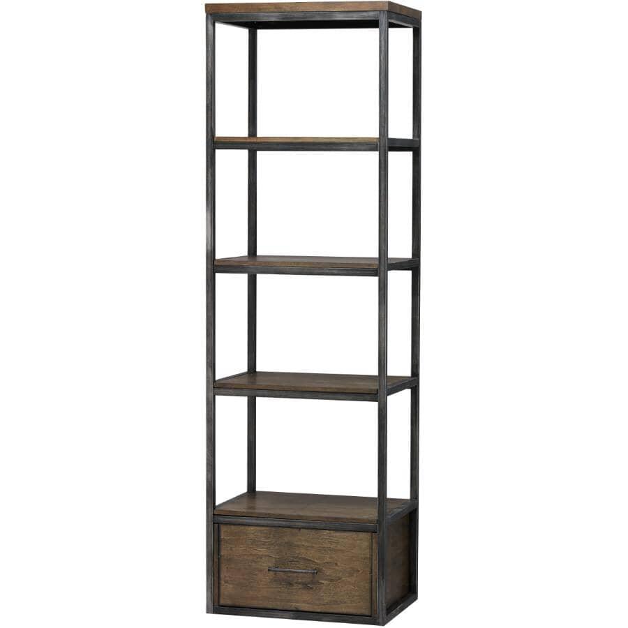 """LANE:4 Tier 23.8"""" x 78"""" Chandler Bookcase"""