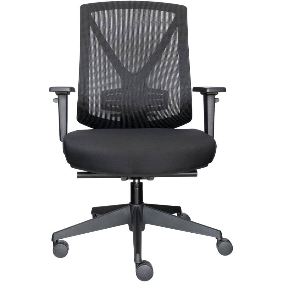 CANERGO:Mid Back Mesh Premium Syncro-Tilter Office Chair