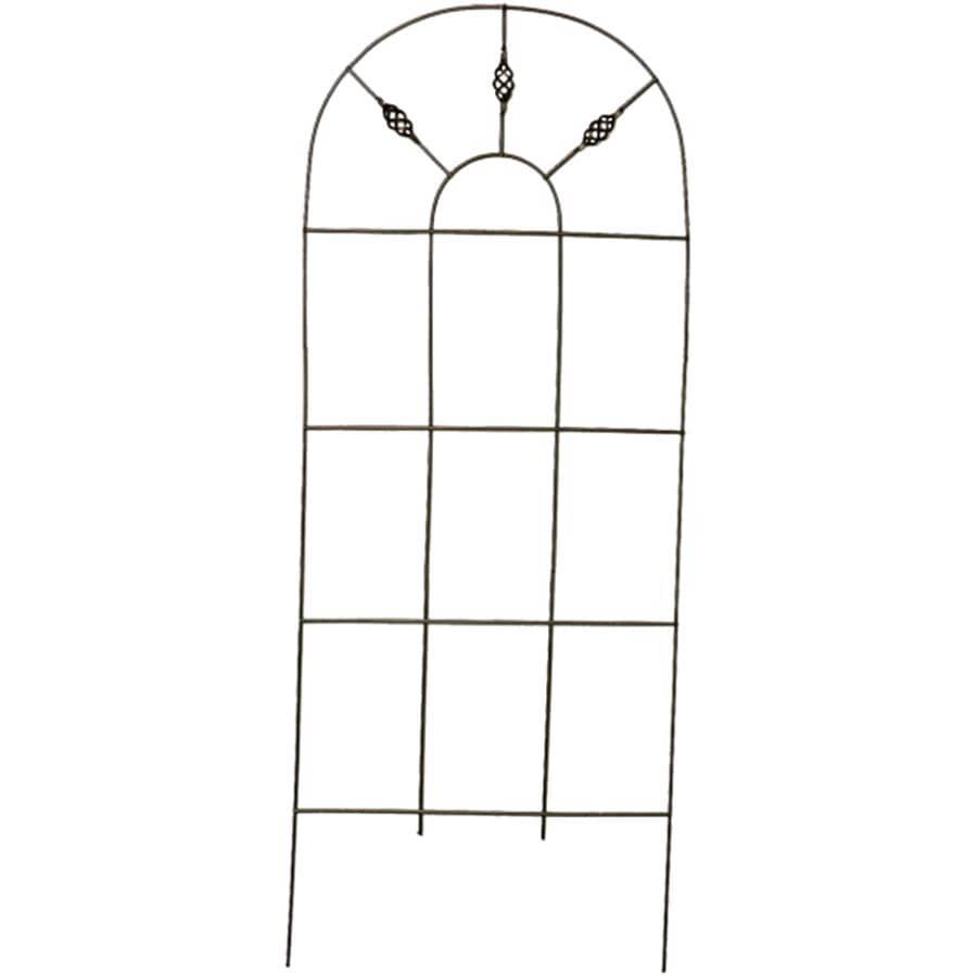 WIRECRAFT:Treillis de jardin de 84 po x 24 po en étain de style vénitien