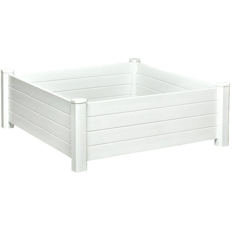 NUVUE:4' x 4' PVC Raised Garden Box Kit
