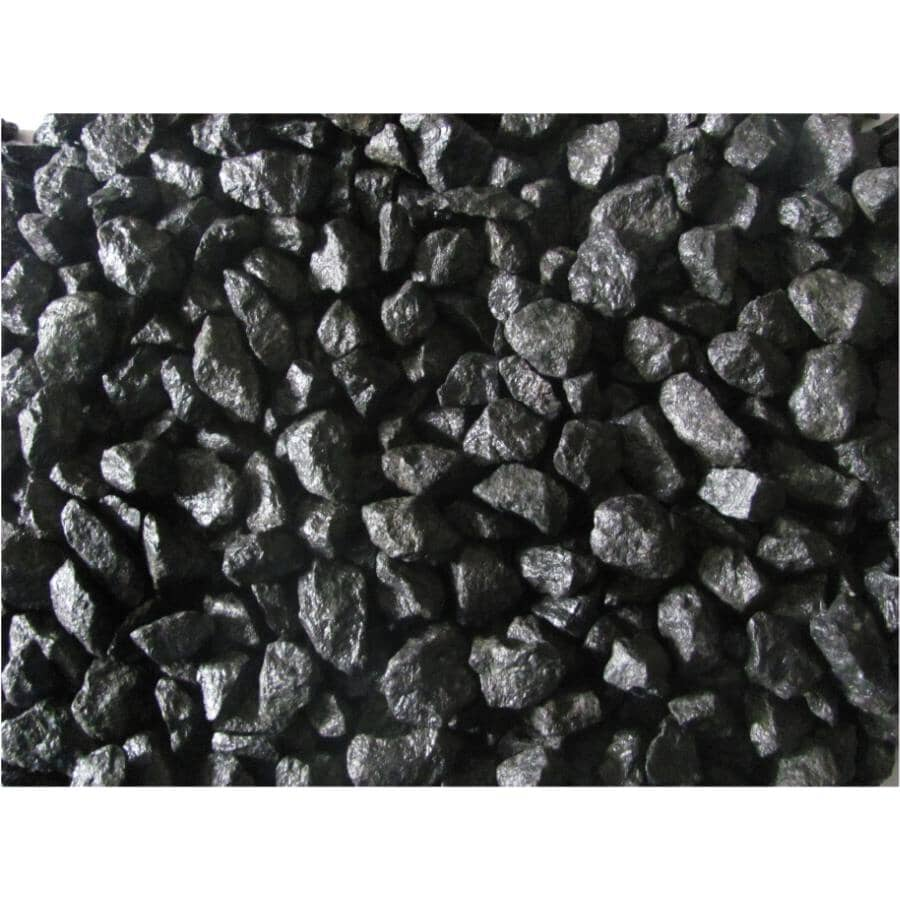 ALL TREAT FARMS:18kg Black Granite Garden Stones