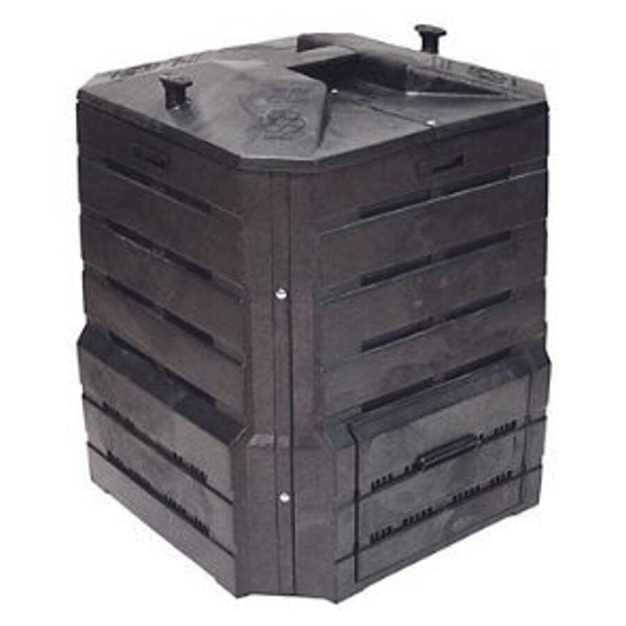 """HORIZON PLASTICS:32"""" x 28"""" x 28"""" Soilsaver Compost Bin"""