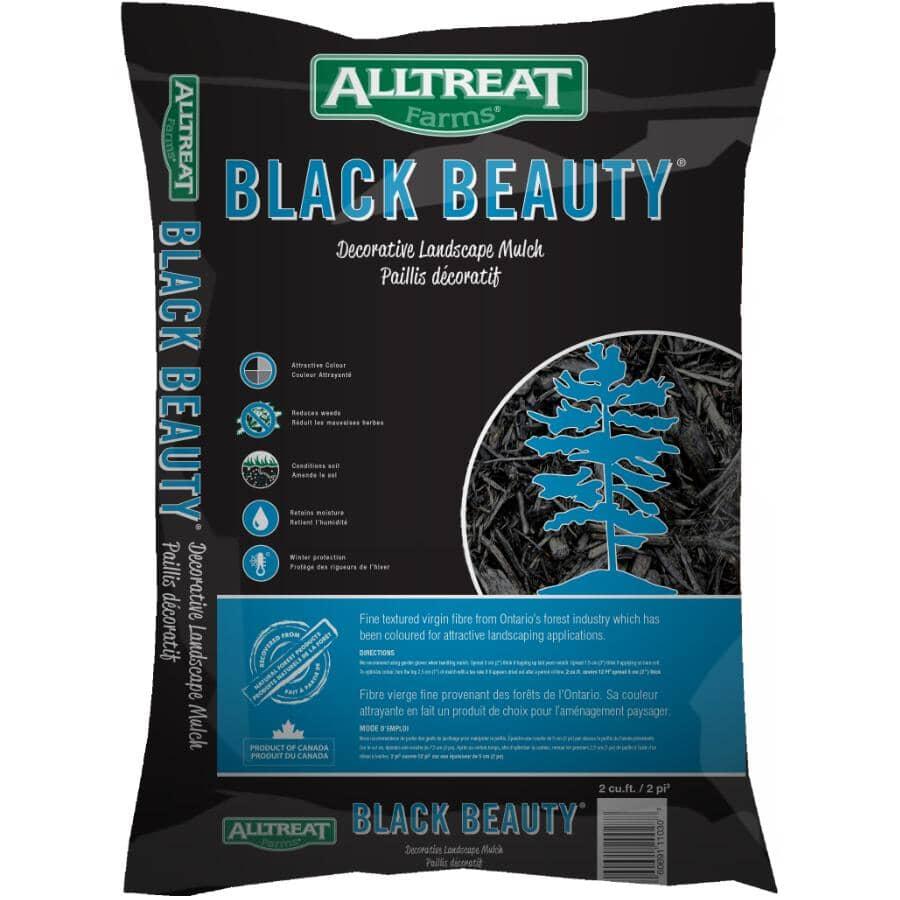 ALL TREAT FARMS:2 Cu.Ft. Black Garden Mulch