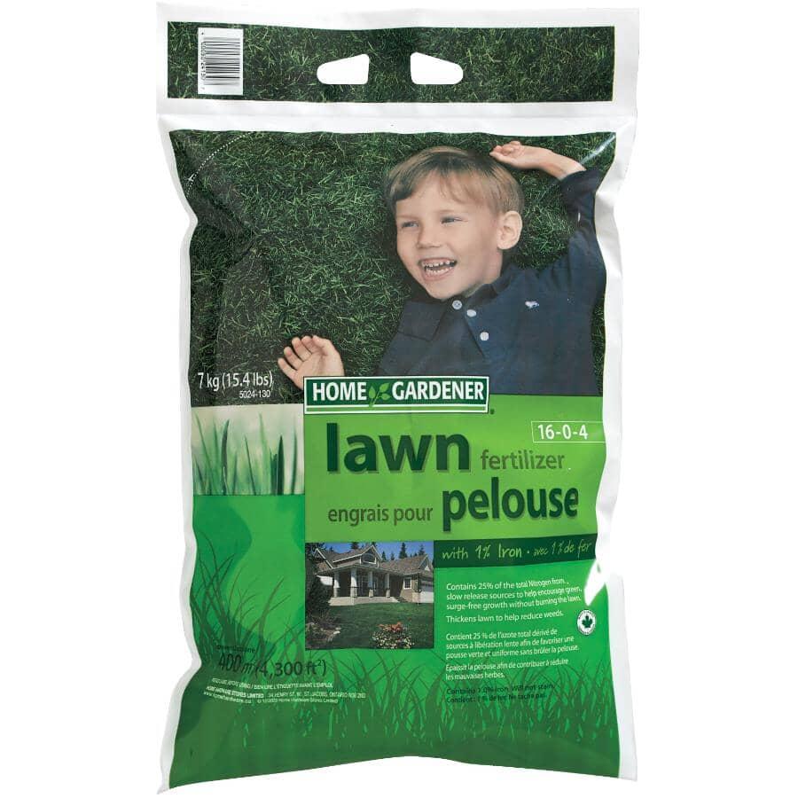 HOME GARDENER:7kg 16-0-4 Lawn Fertilizer
