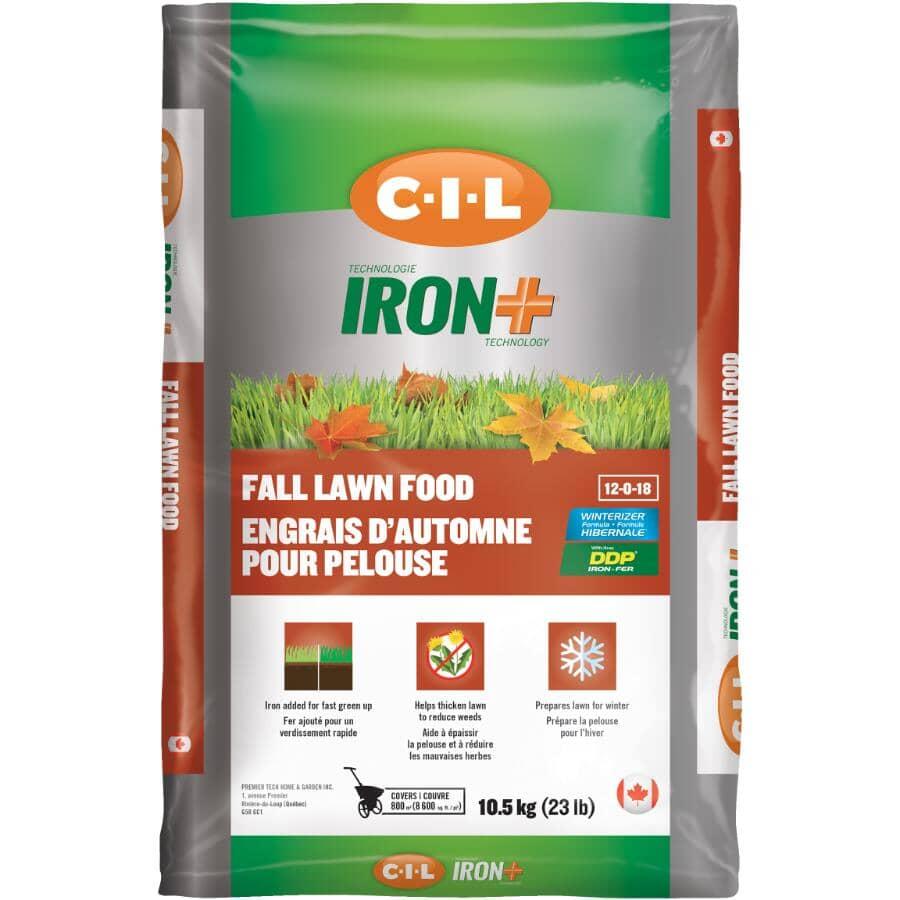 C-I-L:10.5kg 12-0-18 Iron+ Fall Fertilizer