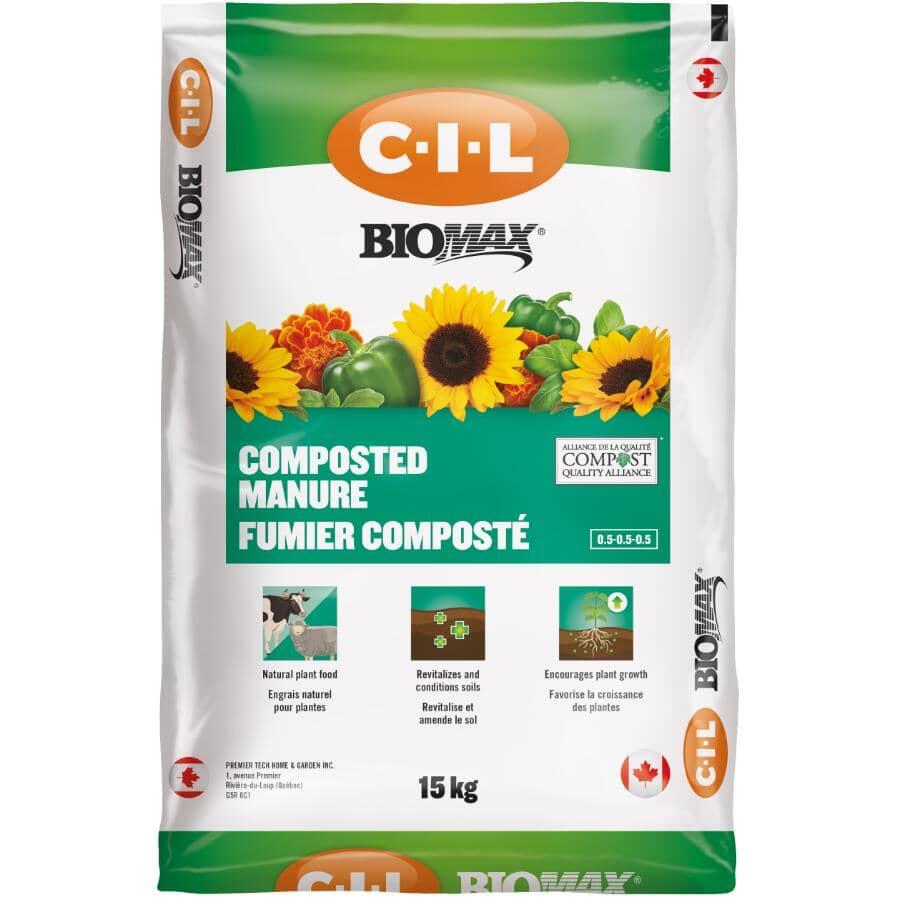 C-I-L:BioMax Composted Manure - 15 kg