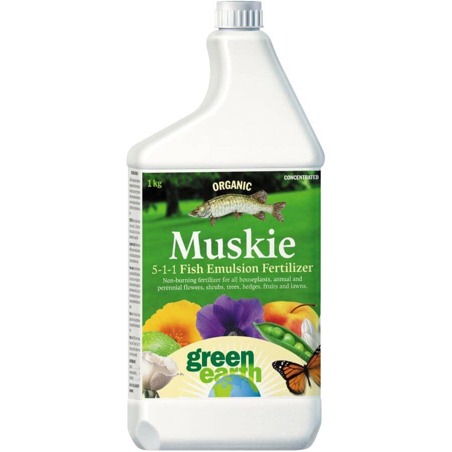 GREEN EARTH:1kg 5-1-1 Fish Emulsion Fertilizer