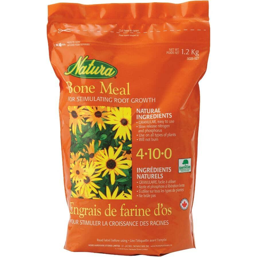 NATURA:1.2kg 4-10-0 Bone Meal Fertilizer