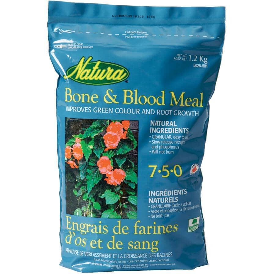 NATURA:1.2kg Bone and Blood Meal Fertilizer