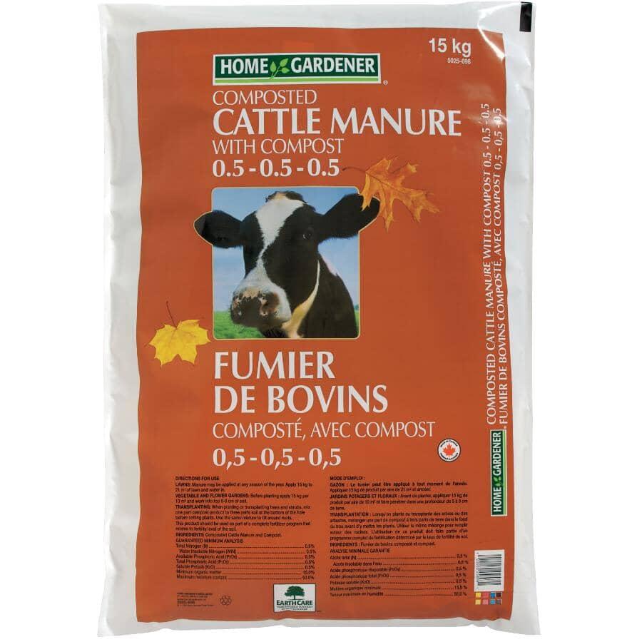HOME GARDENER:15kg Cow Manure
