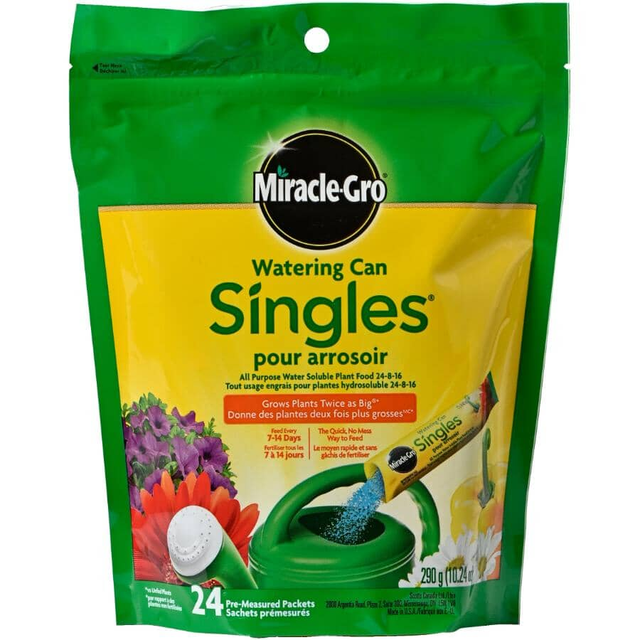 MIRACLE-GRO:24 Pack 24-8-16 Water Soluble Singles Plant Food