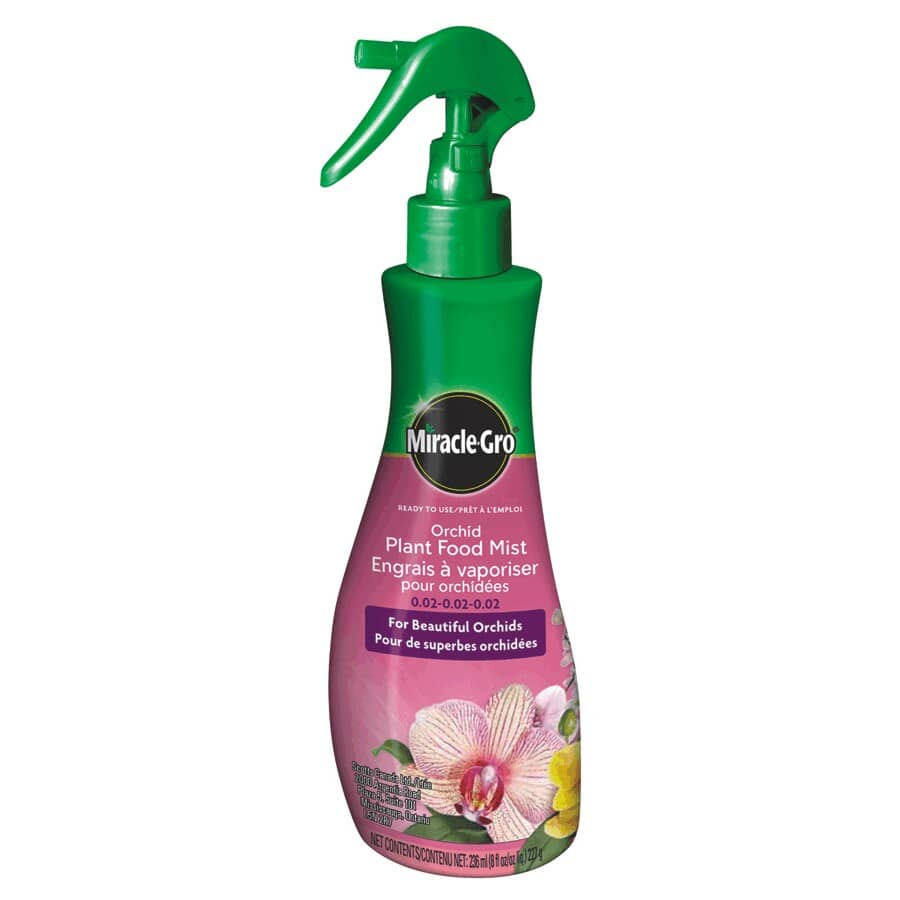 MIRACLE-GRO:Orchid Plant Food Mist Fertilizer - Ready-To-Use, 236 ml