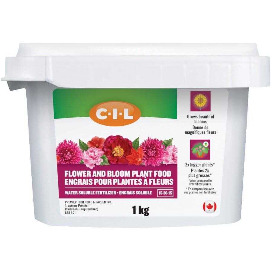 C-I-L:1kg 15-30-15 Water Soluble Flower Blooms Fertilizer