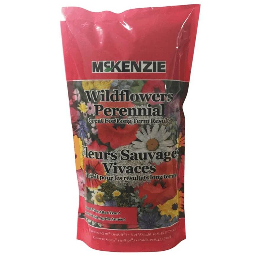 MCKENZIE:198g Wild Flower Perennial Mix Flower Seeds