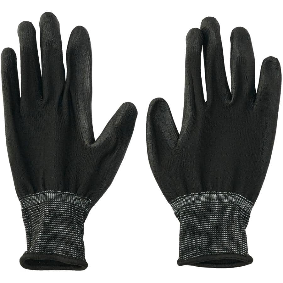 PROTECTOR:Polyurethane Coated Work Gloves - Small, 6 Pairs
