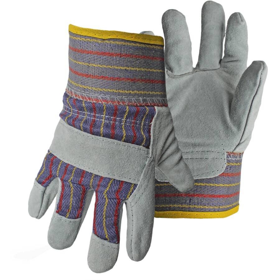 BOSS:Kids Split Leather Combo Garden Gloves