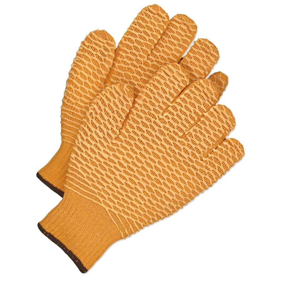 BOSS:PVC Knit Fisherman Work Gloves - Large