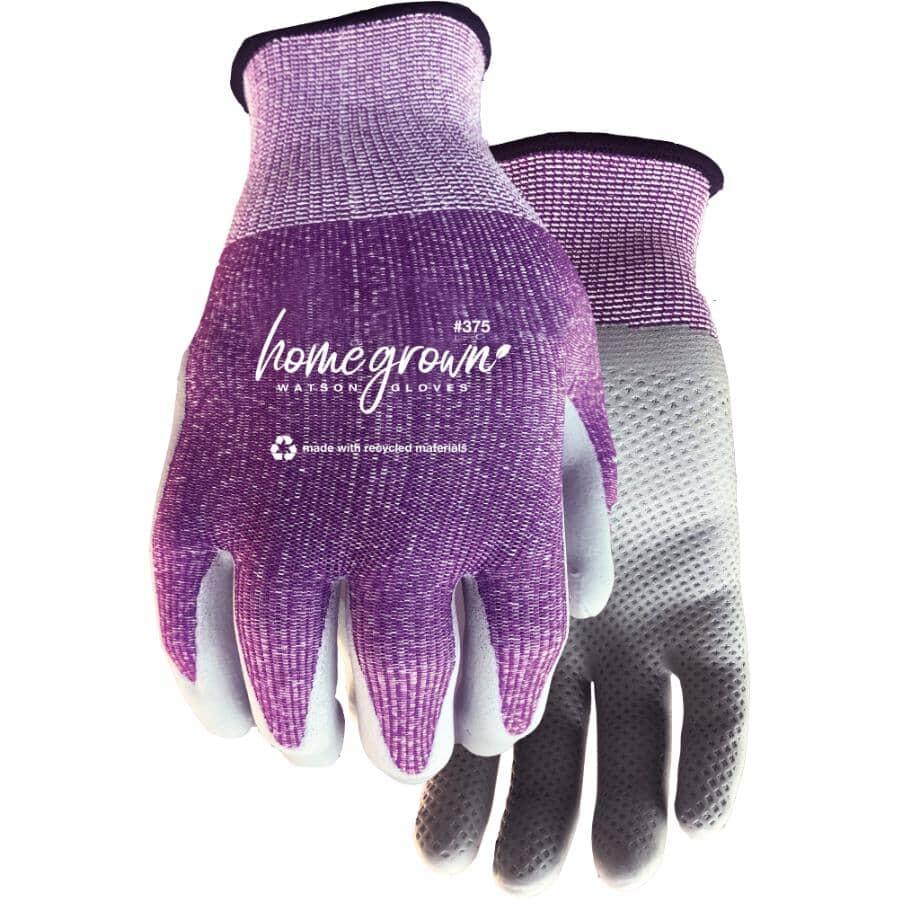 WATSON GLOVES:Gants de jardinage en tricot Karma pour femmes avec paume en mousse de nitrile, moyen