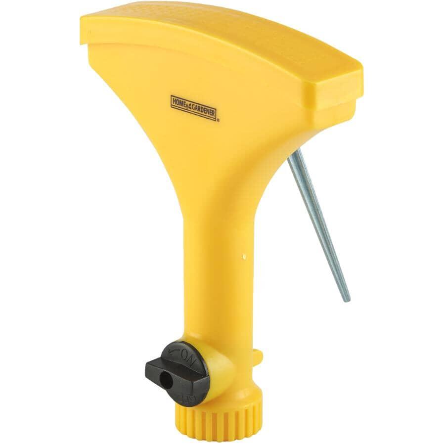 HOME GARDENER:Hand Lawn Sprayer, with Shut-Off
