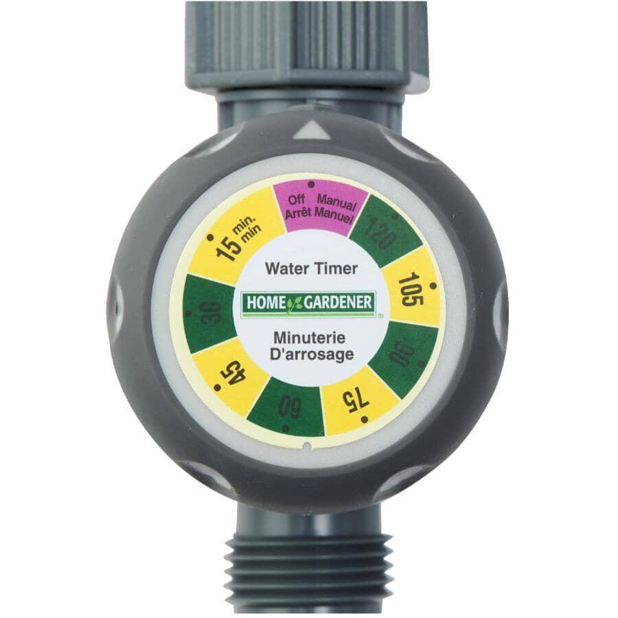 HOME GARDENER:2 Hour Mechanical Water Timer