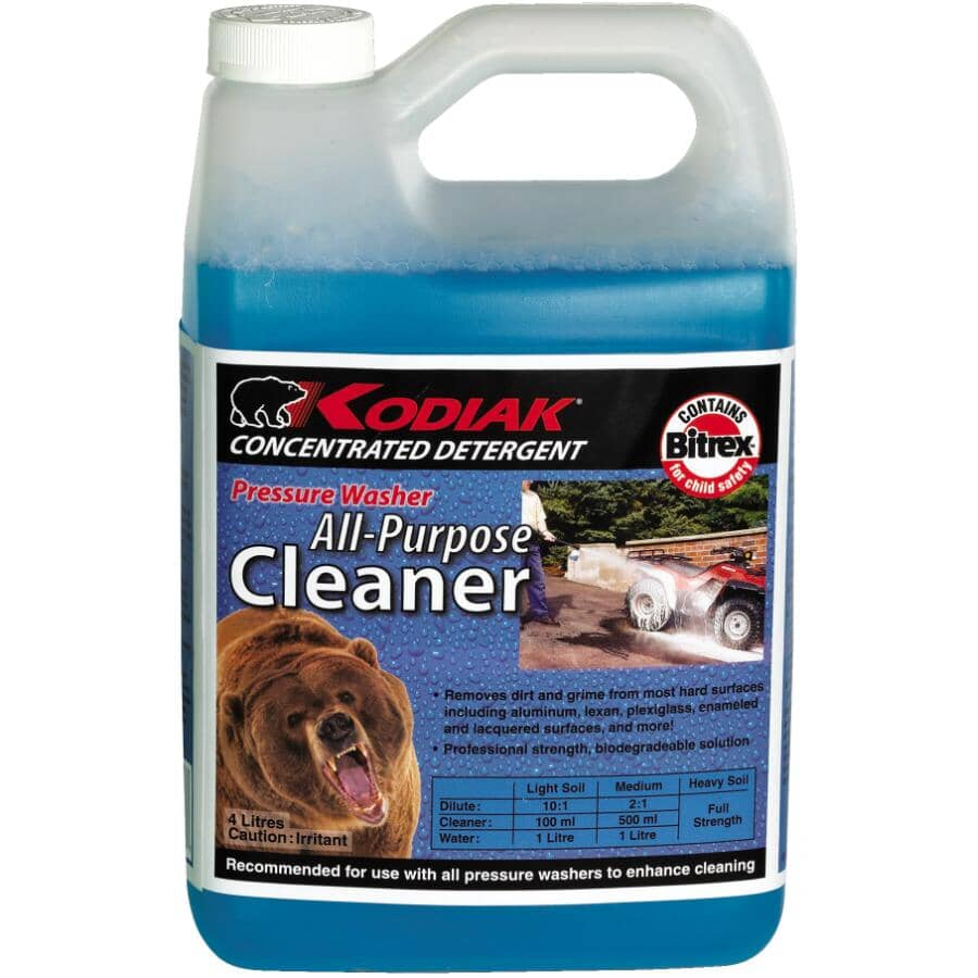 KODIAK:All-Purpose Pressure Washer Cleaner - 4 L