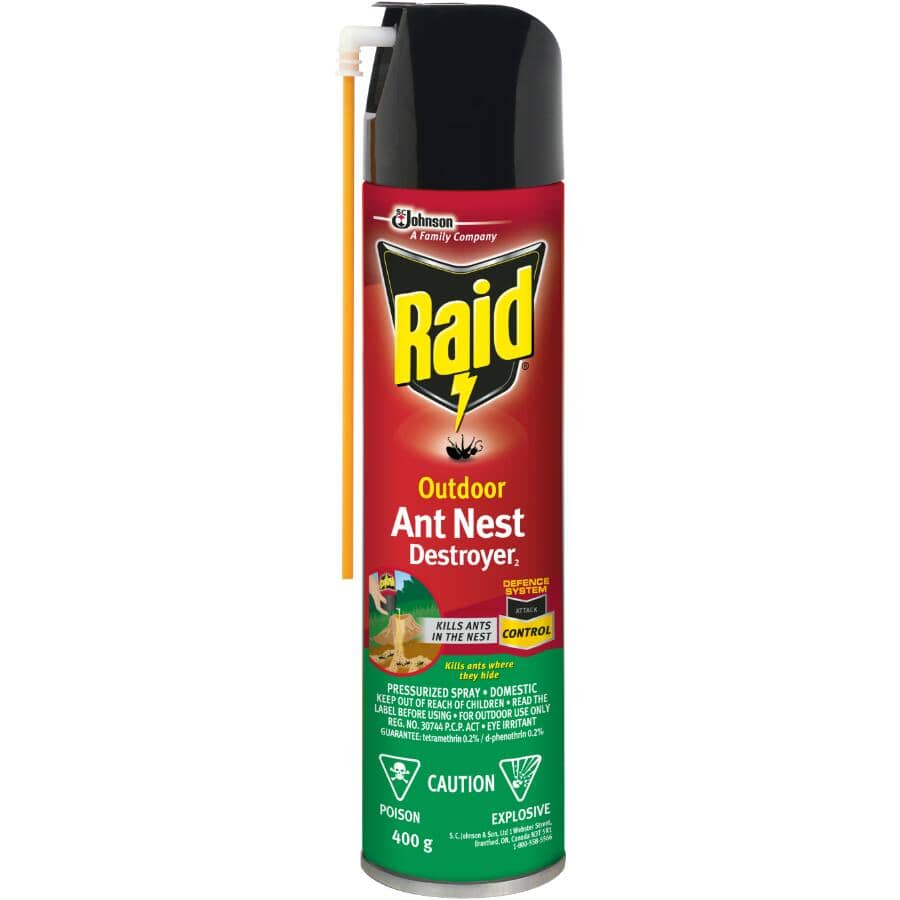 RAID:400g Ant Nest Destroyer Insecticide Spray