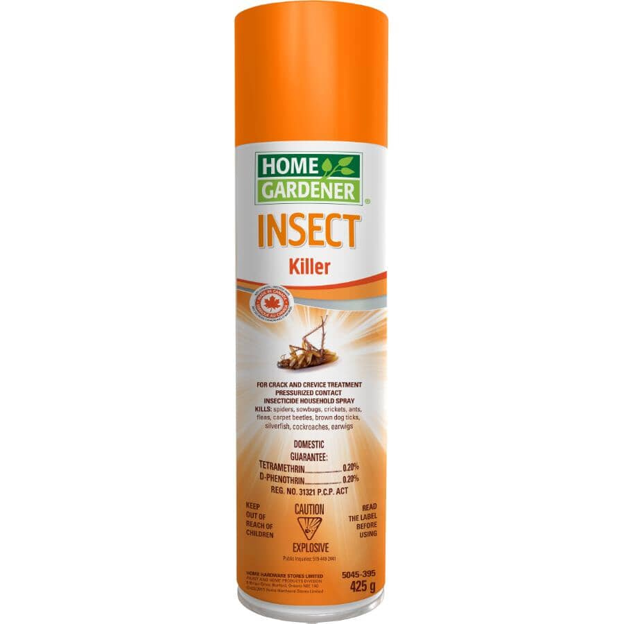 HOME GARDENER:425g Cracks and Crevices Insect Killer Spray