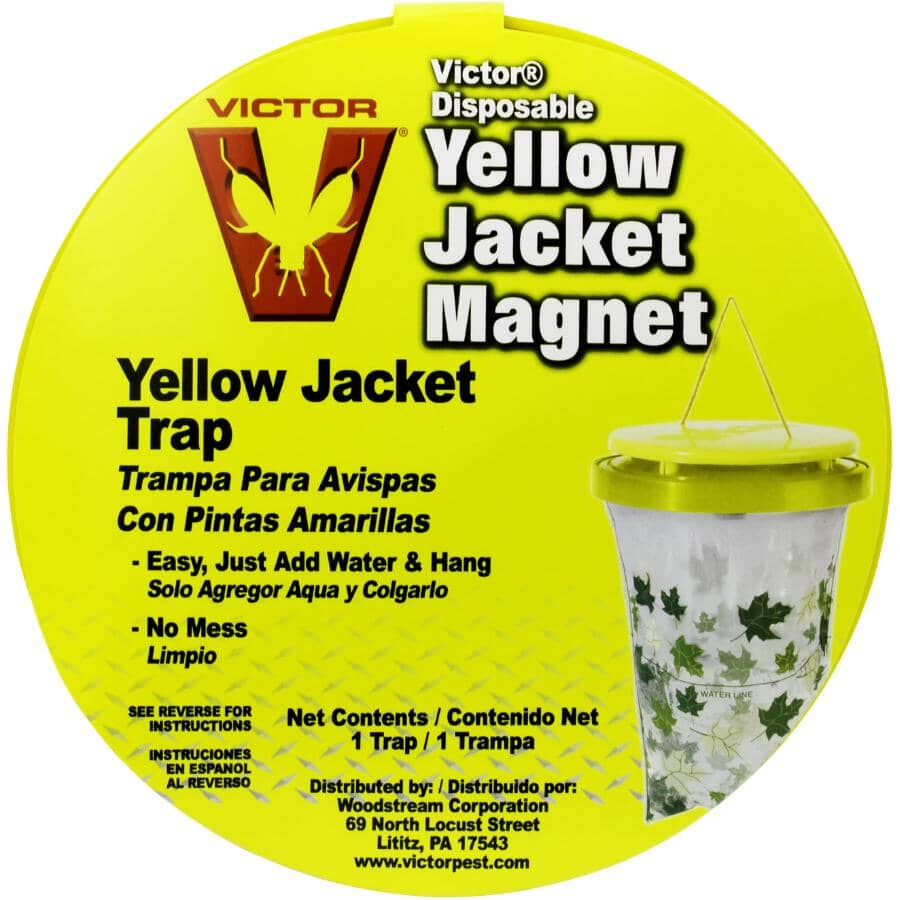 VICTOR:Poison-Free Yellow Jacket Magnet Disposable Trap