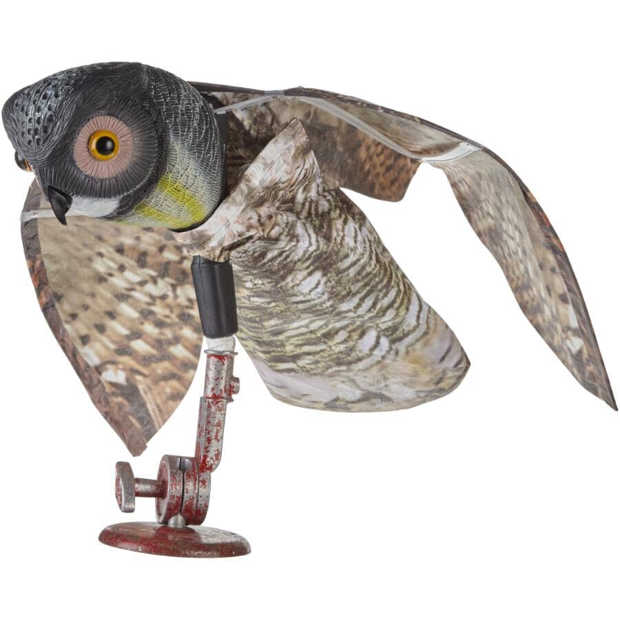 SUPERIOR CONTROL PRODUCTS:Owl Animal Deterrent, with Wings