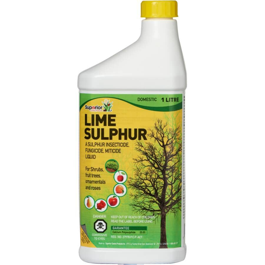 SUPERIOR CONTROL PRODUCTS:1L Lime Sulphur Insecticide