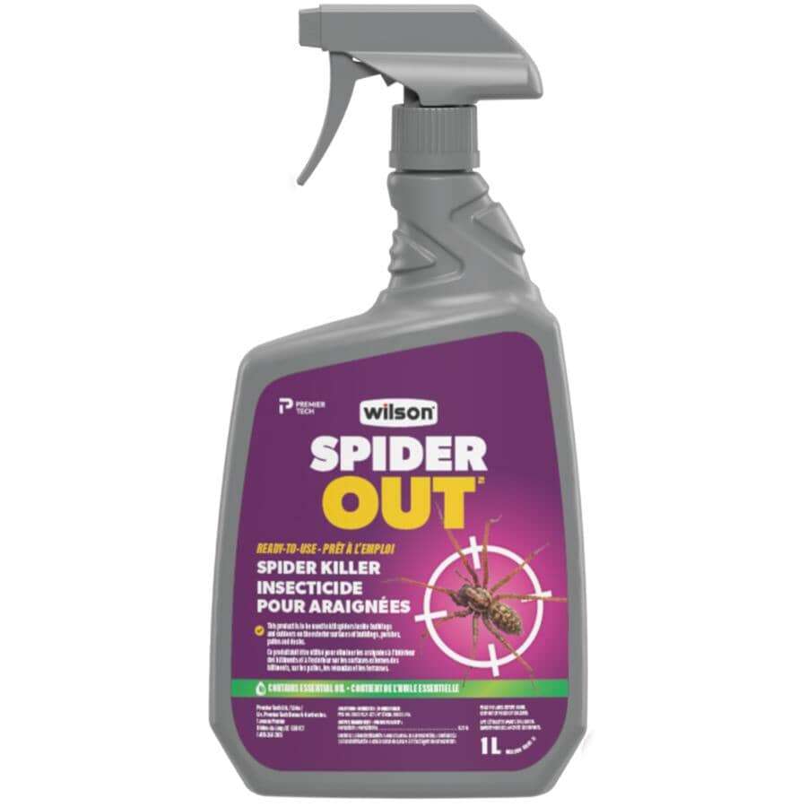 WILSON:1L Ready-To-Use SpiderBan Spider Control