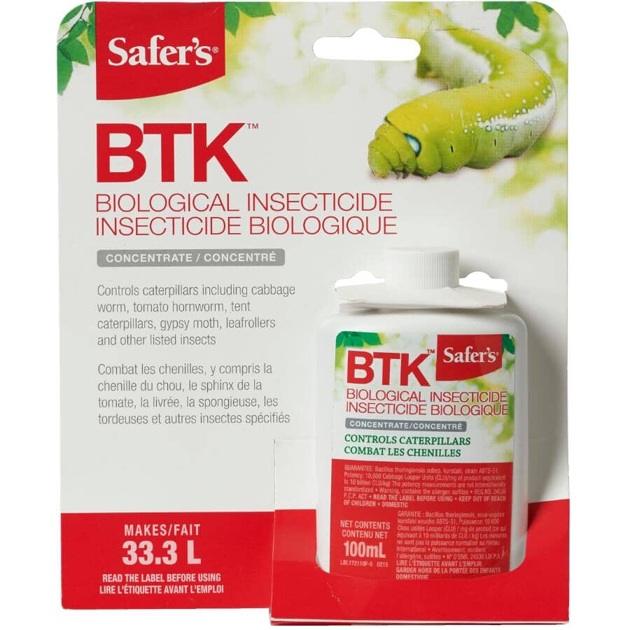 SAFER'S:BTK Caterpillar Killer Concentrate - 100 ml