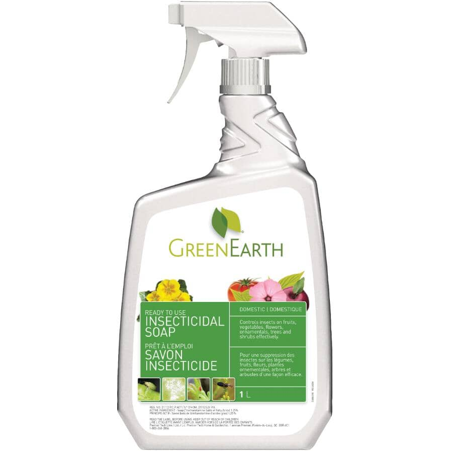 GREEN EARTH:1L Ready-To-Use Natural Insecticidal Soap