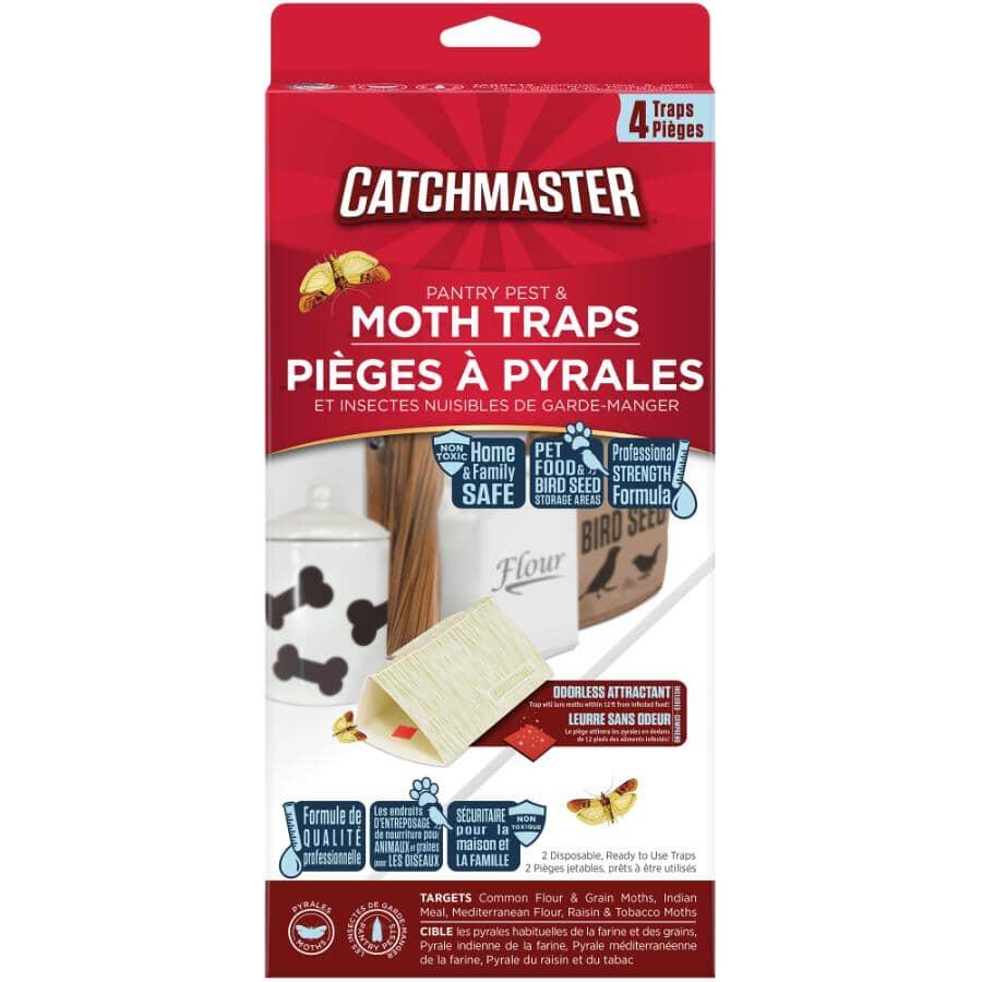 CATCHMASTER:Paquet de 4 pièges à mites de garde-manger