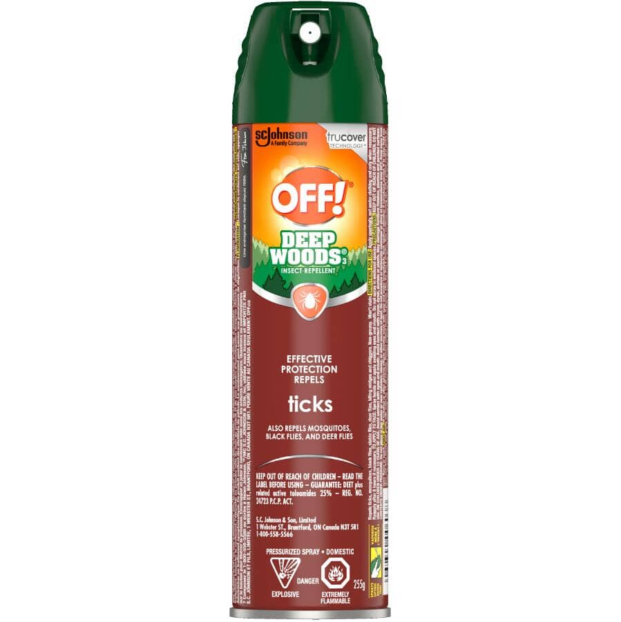 OFF:Deep Woods Tick Insect Repellent - 255 g