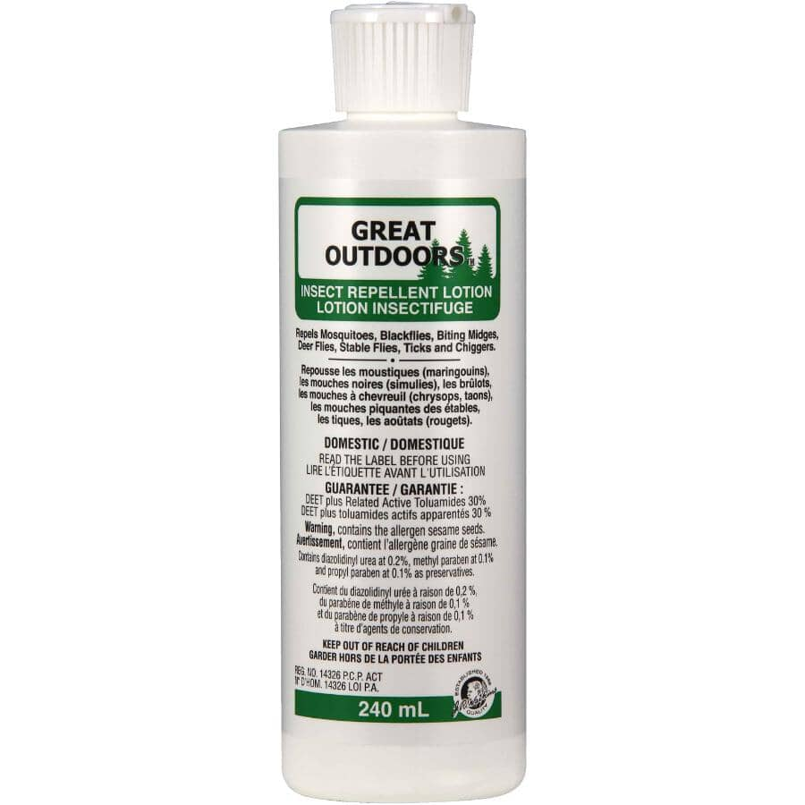 GREAT OUTDOORS:Insect Repellent Lotion - 240 mL
