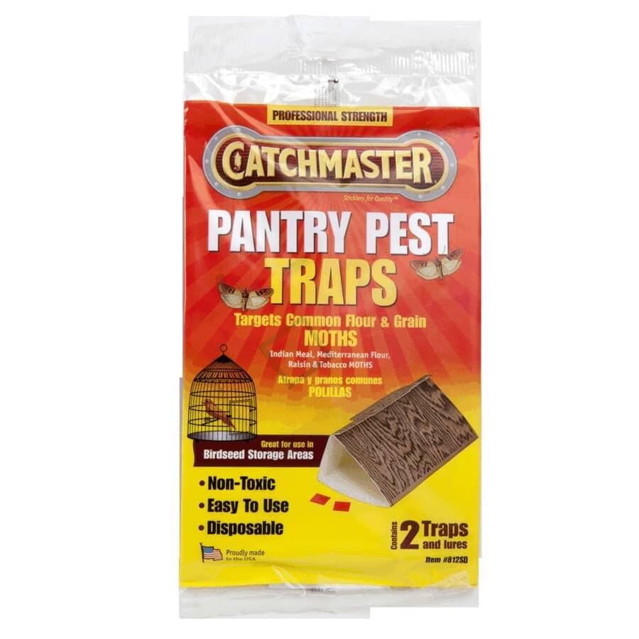 CATCHMASTER:Paquet de 2 pièges à mites de garde-manger