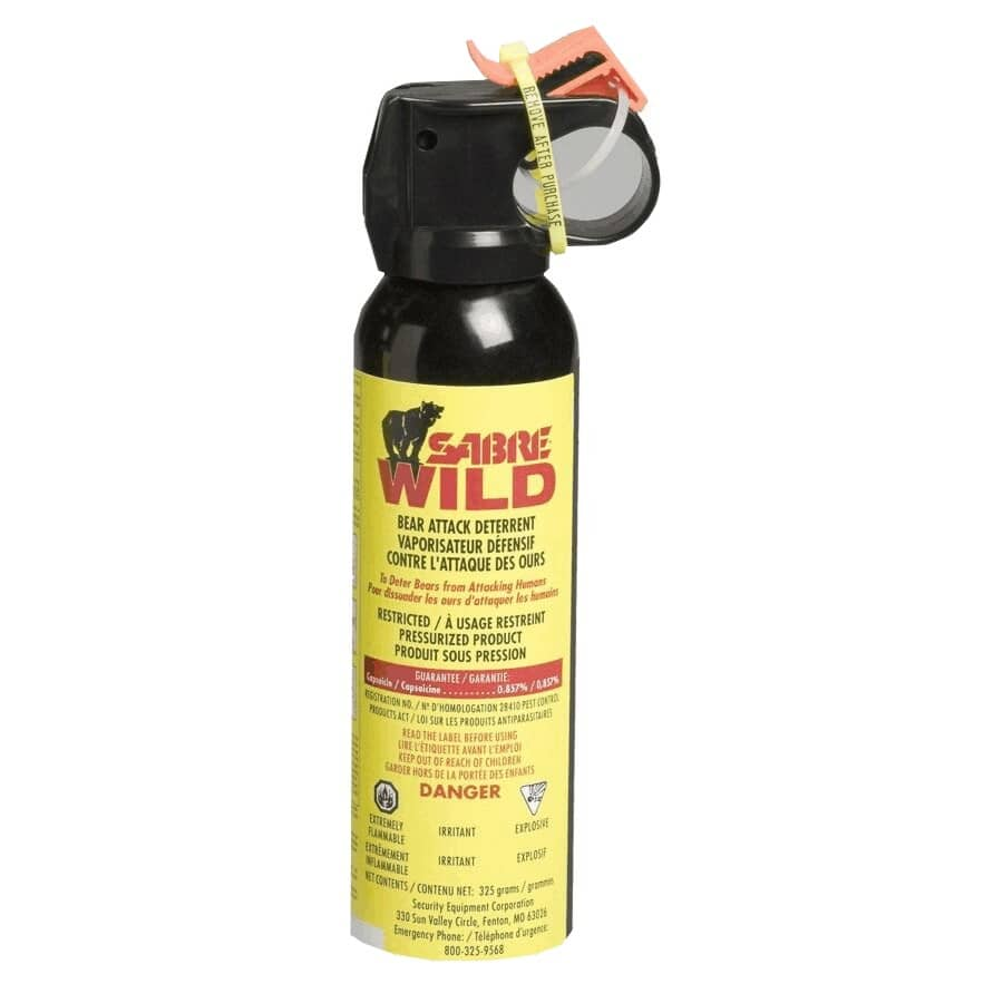 SABRE WILD:225g Bear Repellent