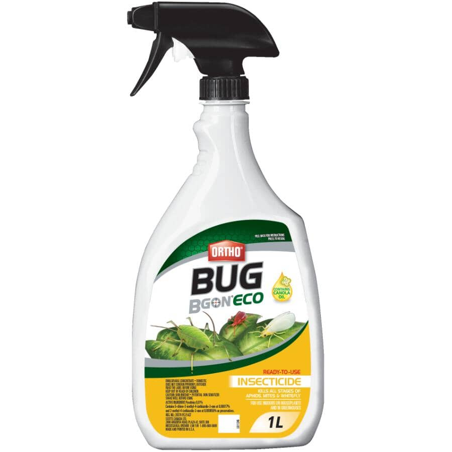 ORTHO:1L Ready-To-Use Bug B Gon Insecticide Spray