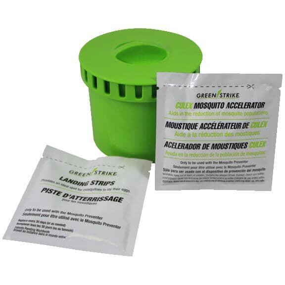 GREENSTRIKE:Trousse de recharge de répulsif à moustiques, appât Cu
