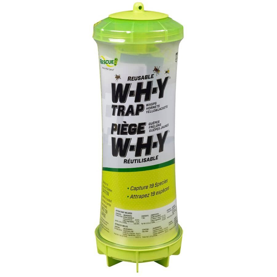 RESCUE:Reusable W.H.Y Trap for Wasps, Hornets & Yellowjackets