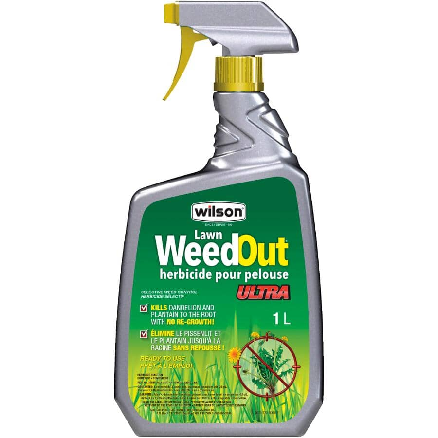 WILSON:WeedOut Ultra - Lawn Herbicide, 1 L