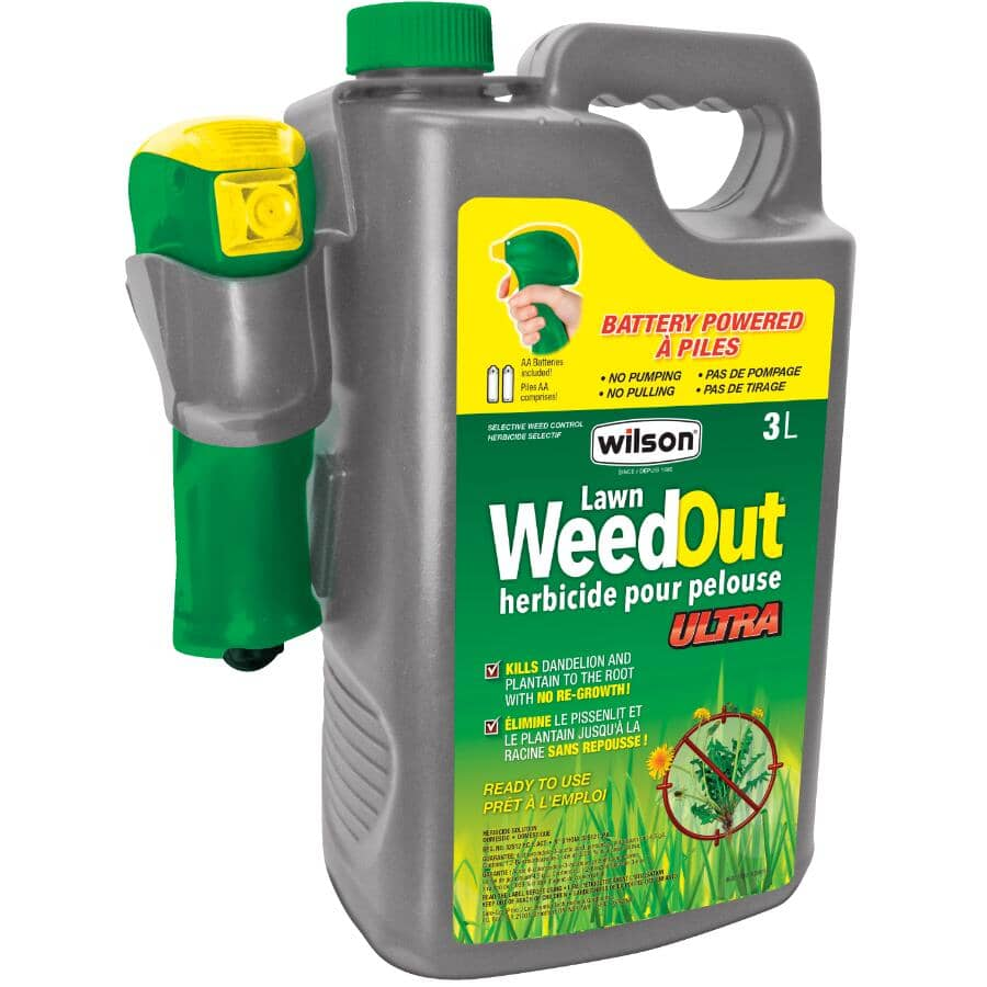 WILSON:3L Ready To Use Weed Out Ultra Herbicide