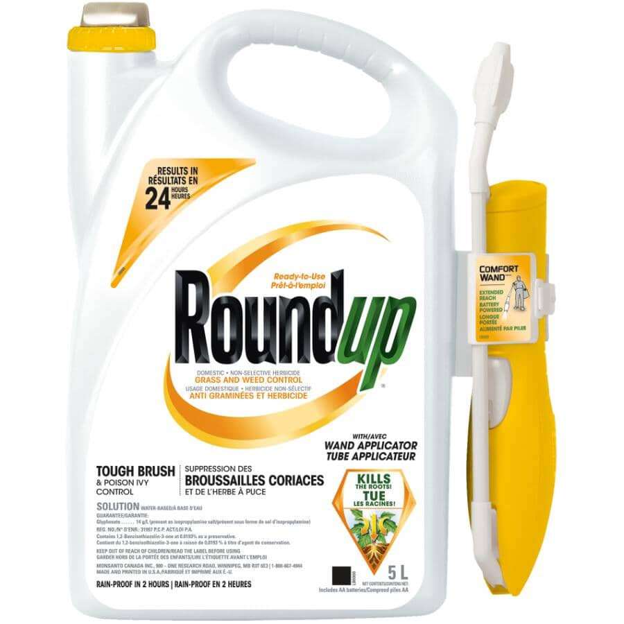 ROUNDUP:5L Pull N Spray Poison Ivy and Brush Control Herbicide