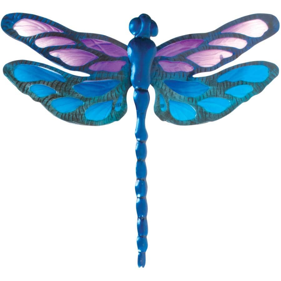 FUSION:Dragonfly Metal and Glass Wall Art