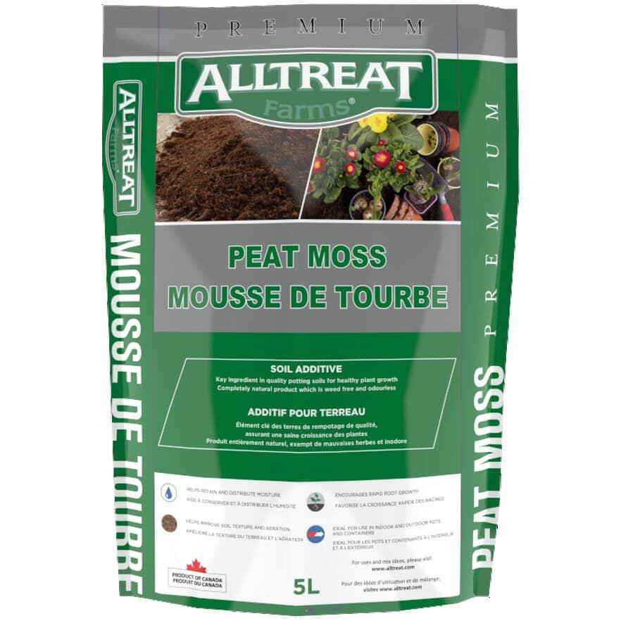 ALL TREAT FARMS:Mousse de tourbe non-comprimée, 5L