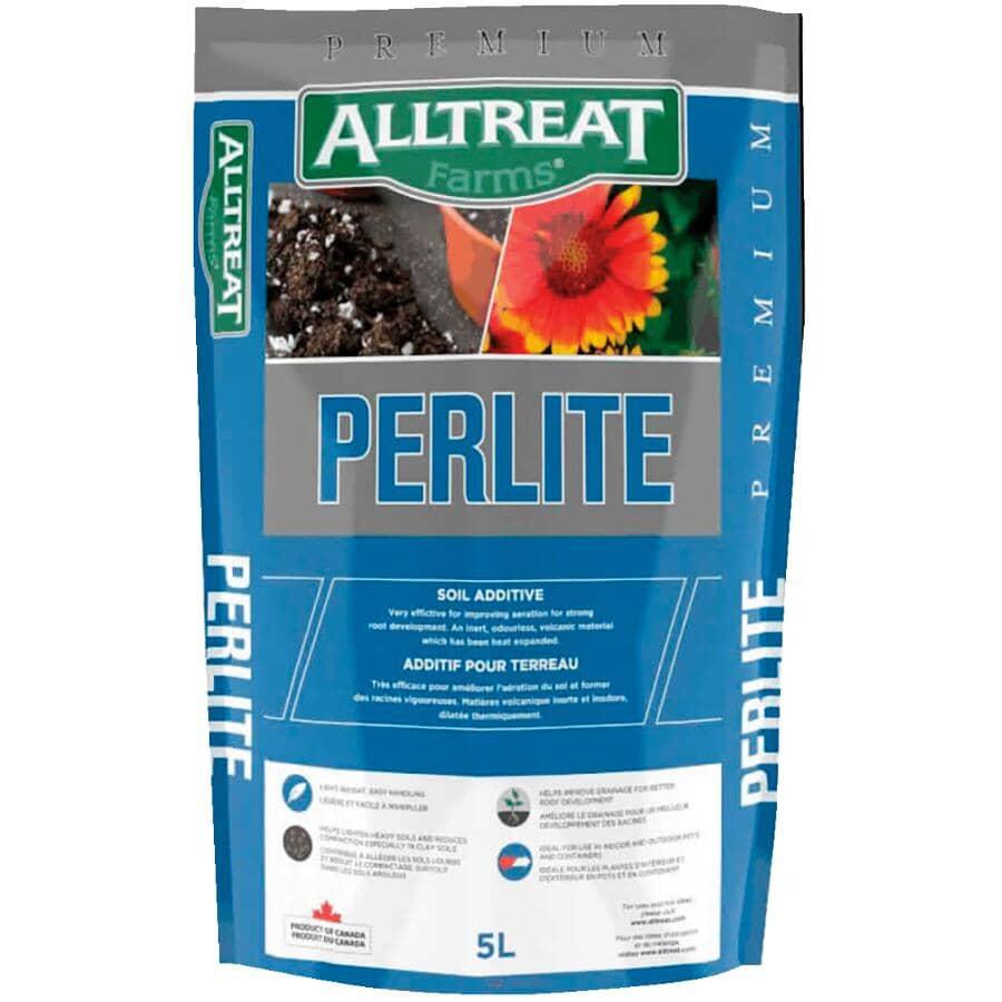 ALL TREAT FARMS:Amendement de qualité supérieure pour sol avec perlite, 5L
