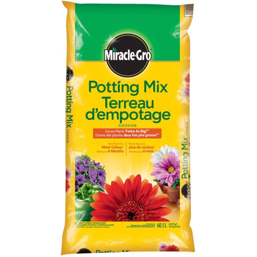 MIRACLE-GRO:60.5L All Purpose Potting Soil Mix