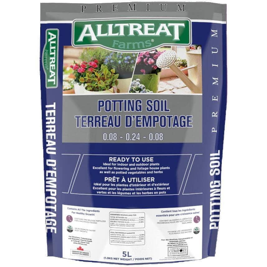ALL TREAT FARMS:5L All Purpose Premium Potting Soil