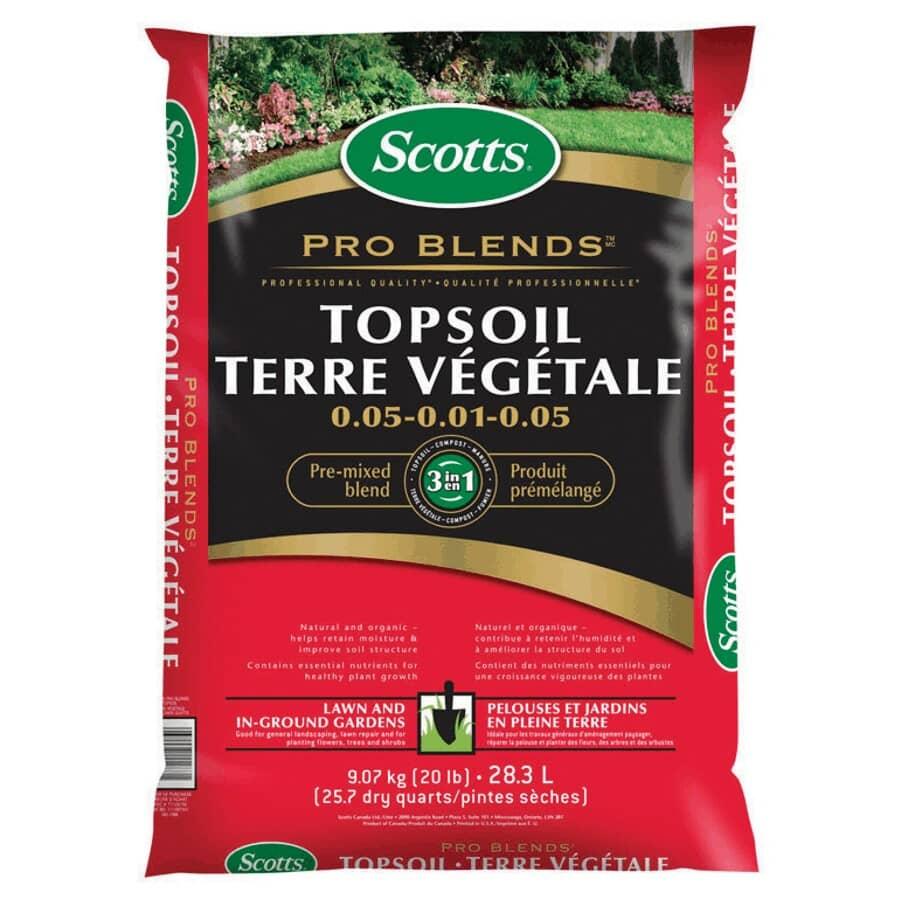 SCOTTS:28L Pro Blend Top Soil